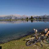 Mountainbiken am Kaltwassersee Seefeld - ©Olympiaregion Seefeld