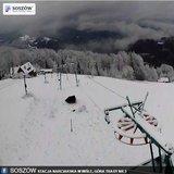 Zima przyszła w polskie góry - koniec listopada 2015 - ©Facebook Stacja narciarska Soszów