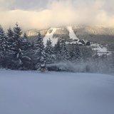 Sněžná děla jedou naplno! - ©facebook Červenohorské sedlo