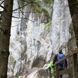 Auf dem Weg zum Einstieg des Hias-Klettersteig - ©Bergleben.de