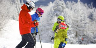 Infographic: Top 3 Northeast Resorts for Families - ©Okemo Mountain Resort