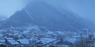 Der erste Neuschnee ist da: Bilder aus den Alpen vom 22. Oktober