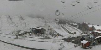 PHOTOS : 1ère offensive de l'hiver, il neige sur les Alpes du Nord