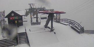 Prvý sneh 2014/15 na Slovensku