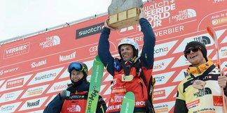 Aurélien Ducroz vainqueur de l'Xtreme de Verbier 2015
