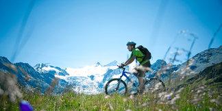 Biker bei Verbier - ©Valais Tourism