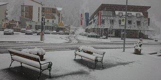 23 września 2015: pierwszy podmuch zimy w Alpach - ©Facebook Pitztal - Tirol
