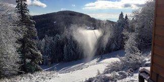 Snehové delá idú naplno - ©facebook Ski Bachledova