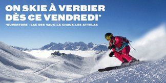 On skie à Verbier dès vendredi 27 novembre - ©Téléverbier