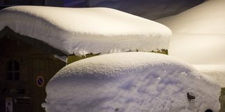 Powder in the French Alps Nov. 26, 2015 - ©Val Thorens