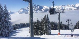 Flaine et les Carroz ouvriront partiellement ce week-end (5 et 6 décembre) - ©Facebook Les Carroz