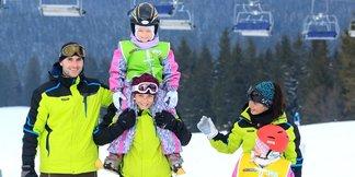 Naučte deti správne lyžovať pod vedením inštruktorov na Orave - ©Ski Orava Snow