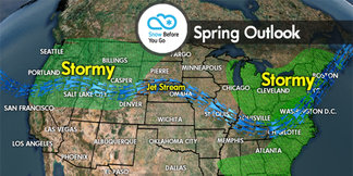 Spring Skiing Forecast: March–May Predictions - ©Meteorologist Chris Tomer