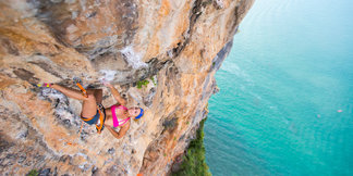Sasha DiGiulian (USA) in Thailand - ©Cameron Maier / Red Bull Content Pool