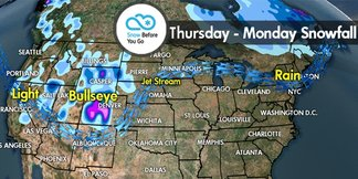 Snow Before You Go: Ski Season Continues With 2 Storms on the Way - ©Meteorologist Chris Tomer