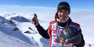 Axel Le Palabe, champion de ski slopestyle en devenir... - ©Page Facebook Axel Le Palabe