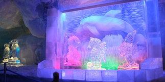 V Saas-Fee otvorili ľadový palác v 3500 metroch nad morom - ©seilbahn.net