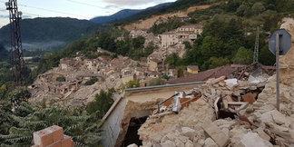 Terremoto: solidarietà dalla FISI e aiuto concreto
