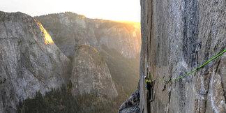Adam Ondra steigt in die Dawn-Wall ein - ©Heinz Zak