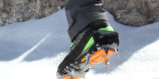 Im Test: Black Diamond Contact Steigeisen  - ©Bergleben