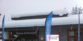 Opening day powder pictures from Saturday - ©Meribel