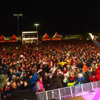 Season Opening in Ischgl 2014: James Blunt at Top of the Mountain concert