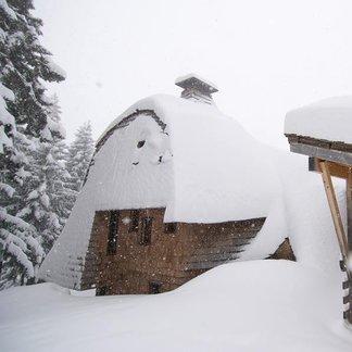 Prašan vo francúzskych Alpách - 17.1.2015
