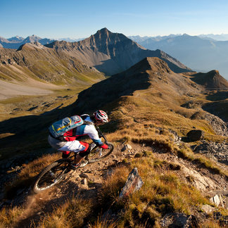Biken in der Region Lenzerheide - ©Photopress | Lenzerheide | Manfred Stromberg