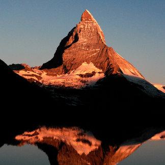Das Matterhorn in der Dämmerung - ©Valais Tourism