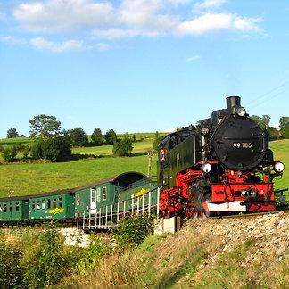 Fichtelbergbahn - ©Erzgebirge Tourismus
