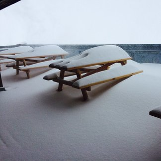 First snowfall arrives in the Alps (Sept. 23) - ©Umberto Capitani Facebook