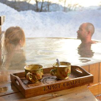 Détente, relaxation et bien-être après le ski - ©David Machet / Les Aravis