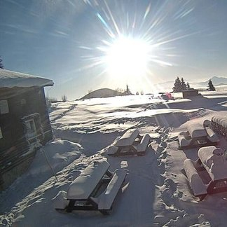 Sneh na konci apríla - ©webcams OTS