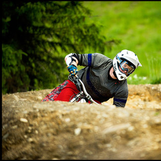 Downhill i Hafjell Bike Park