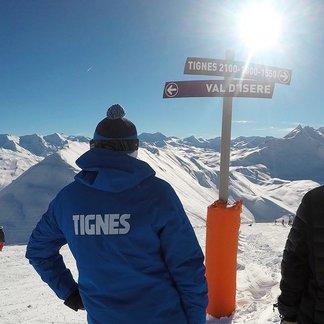Start skiseizoen in de Franse Alpen, 26 november 2016 - ©Val d'Isere