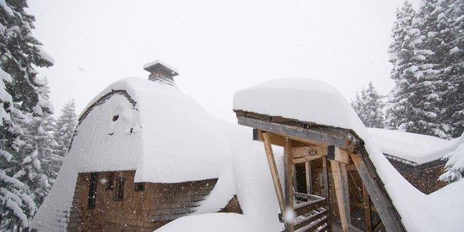 Prašan ve francouzských Alpách - 17.1.2015