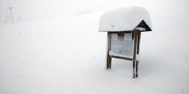 Schneemassen in den Südalpen (24.11./25.11.2016) - ©facebook facebook Bardonecchia Ski
