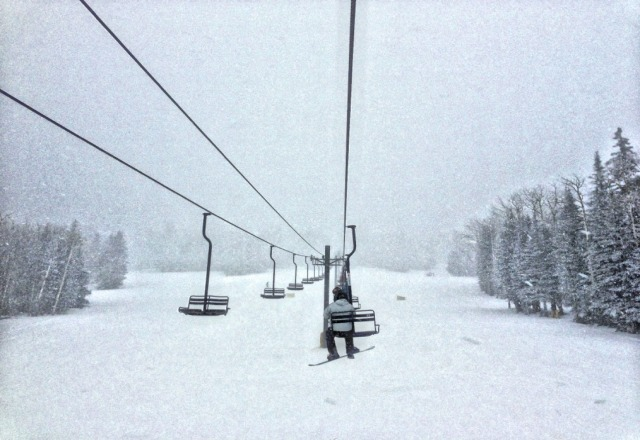 12/24 snowed from 9am until I left the mountain at 4pm. Going to be lots of powder Christmas Day
