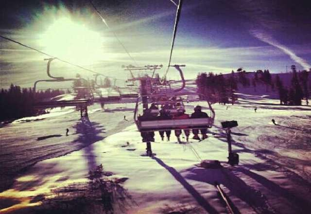 Skied there today. it was crazy packed.