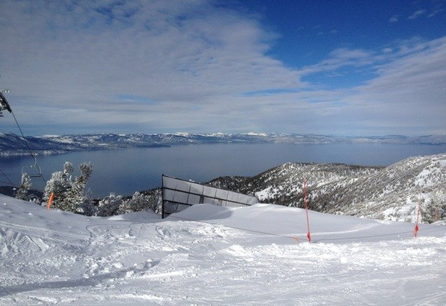 great weather plus great snow mkaes a perfect day at Heavenly!