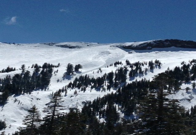 today was epic(april 17)!! enough snow to make an avalanch slide. best day to end the season. goodbye snow and kirkwood..i will miss you until next year.