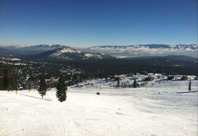 Outstanding conditions, even better Tahoe Donner hosts, extremely skier friendly!