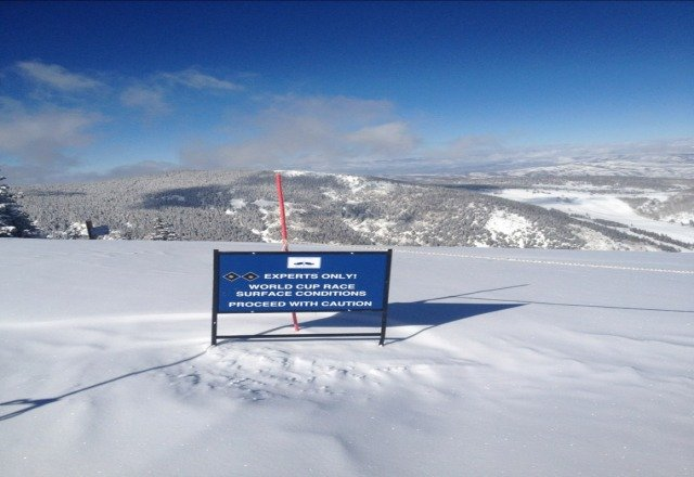 the snow is better at Breck