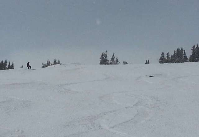 T-Bar was great this morning.  no lines and untracked Pow.