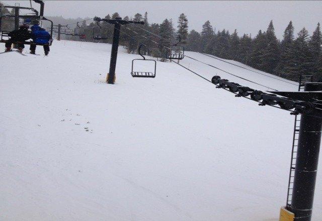 snowin!