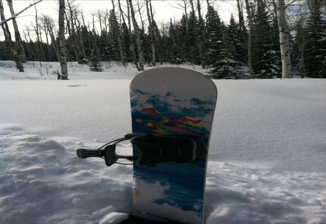 Nice day today! Lots of pow stashes if you could find them and in the trees! Looking forward to going out again tomorrow