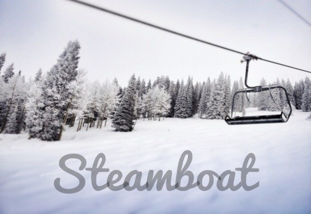 Happy Birthday, Steamboat! Cold this morning but sun's coming out. groomers are icy, but some variable