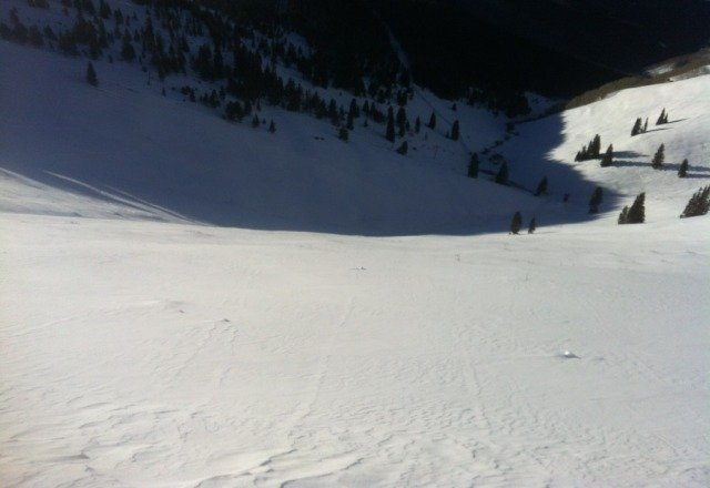 First run of the year in sun up bowl from Friday