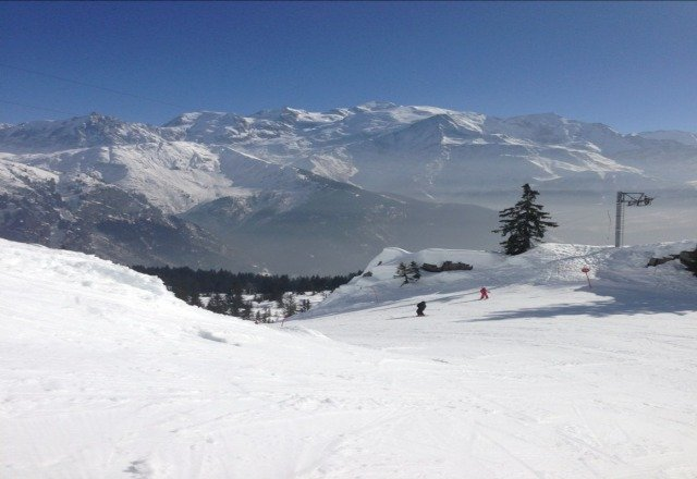 last week from Passy Plaine Joux ski station!
