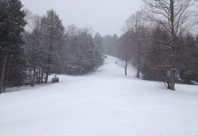 Powder and no more than 100 people. What a great day at Butternut!